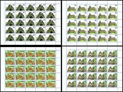 Culture of the Khmer (IV) - Temple Banteay Chhmar -SHEET- (MNH)