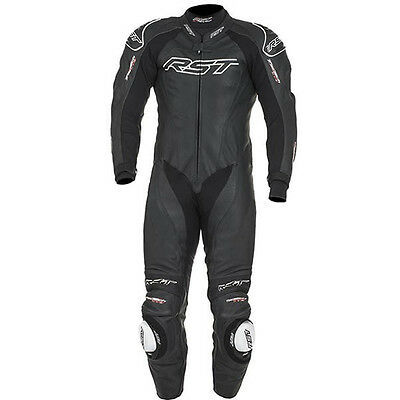 RST Motorcycle 1415 Tractech Evo II Mens Leather Suit Black