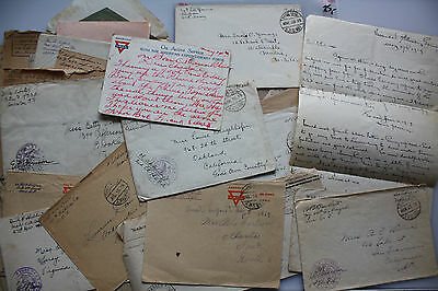 47 Third Armee Feldpost WK I - Soldiers Mail incl. 4 x Officiers Mail -Raritäten