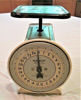 Vintage Utility Scale up to 25 Pounds