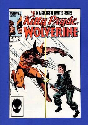 Kitty Pryde & Wolverine #3 Nm- 9.2-9.4 High Grade Copper Age Marvel Comics