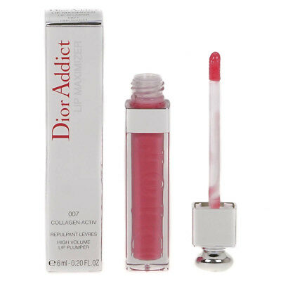 Dior Addict Lip Maximizer Sheer Plumping Lipgloss 007 Pink Sunset Damaged Box