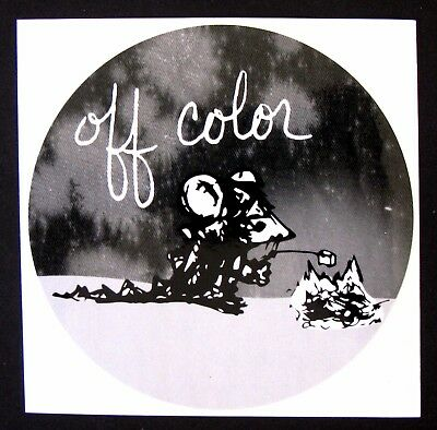Off Color Brewing OFF COLOR brewery sticker - not a beer label Marshmallow roast