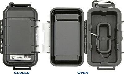 Pelican iPhone and iPod Touch Case PLI1015 Micro Case Series. Solid black finish