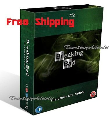 BRAND NEW Blu-Ray Breaking Bad The Complete Series Box Set Region 1year Warranty