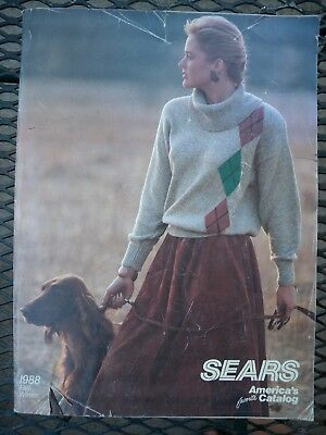 Vintage 1988 Sears Fall Winter Catalog