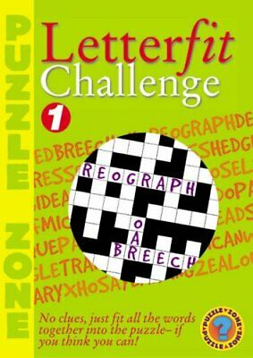 Letter Fit Challenge 1 and 2 Paperback Book The Cheap Fast Free Post