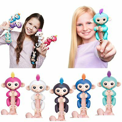 Fingerlings Electronic Interactive Thumb monkey Sensor Fingers Kid Pet Toy Gift