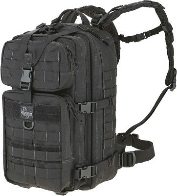 "Maxpedition Falcon-III Backpack Black Knife PT1430B Measures 10"" x 12"" x 20"". Vo"