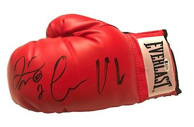 Floyd Mayweather & Connor Mcgreggor Hand Signed Boxing Glove With Beckett Coa