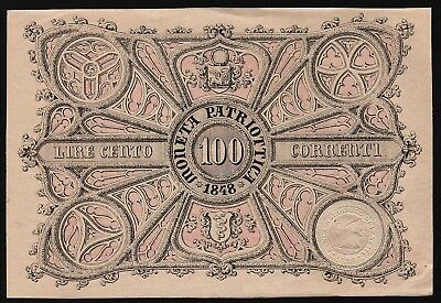 100 Lire From Italy 1848 M8