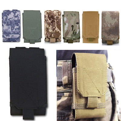 Universal Cell Phone Outdoor Pouch Tactical Army Holster Case Bag Belt Cover New