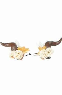 A664 Fairy Woodland Horns Crown Headpiece Elves Mythical Costume Accessory