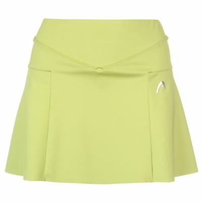 HEAD Womens Capule Tennis Skort Performance Skirt Lightweight Elasticated Waist