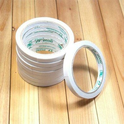 12/50M Strong Double Side Sticky Adhesive Tape Clear Adhesive Tape 8MM TU