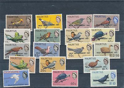 32337/ Mauritius ** MNH Lot / Mixture  Fauna Tiere Vögel Bird