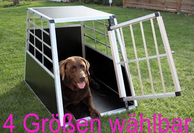 Aluminium Hundebox FELLNASE Transportbox Hundetransportbox Gitterbox Alu NEU
