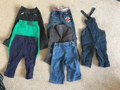 Baby Boys Trousers Bundle 9-12 Months