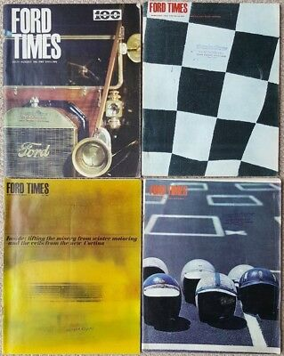 Ford Times Magazines 1963 - 1966