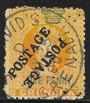 Grenada stamps 1883 SG 29a CANC VF Scarce stamp!
