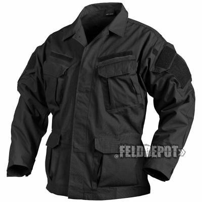 Helikon Tex SFU NEXT Shirt Black schwarz Feldbluse Special Force Uniform RipStop