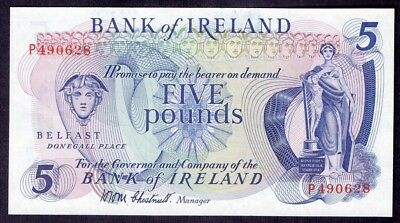 5 Pounds From Ireland Belfast Unc