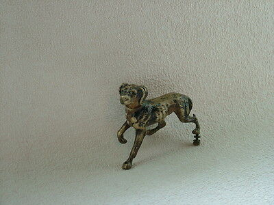 Antique Bronze Dog Figure.