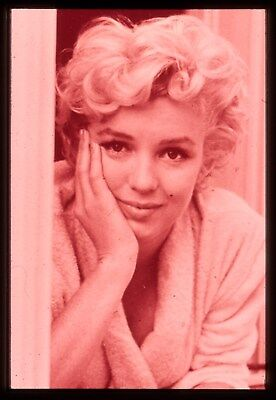 "35mm ""sepia tone"" transparency/slide candid photo of lovely,marilyn monroe 1954."