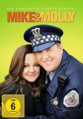 Mike & Molly - Staffel 5 (2015) Season 5 - DVD - NEU&OVP