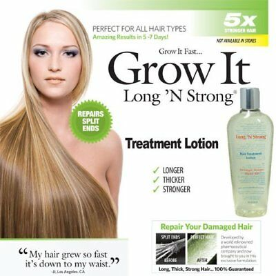 Hair Lotion for Split Ends Repairing Promotes Long Thick Healthy Hair Style 8 oz