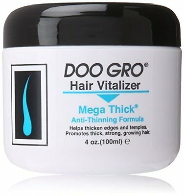 Hair Mask Perfect Helps Thicken Thinning Edges and Temple Area 4 oz by Doo Gro