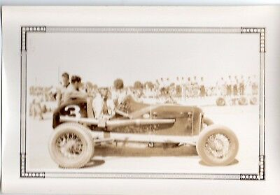8 Vintage Race Car Original Photos 1940 S Very Good Shape  Part One Of 4