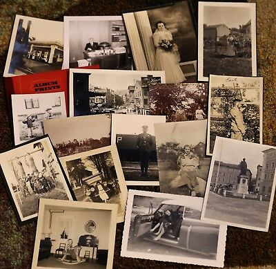 500+ Vintage Photo of Black and White Instant Photograph Collection Lot Pictures