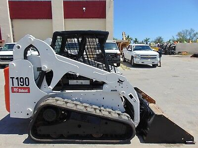 2011 Bobcat T-190 Turbo - Aux Hydraulics - Skid Steer Track Loader - Best Price!