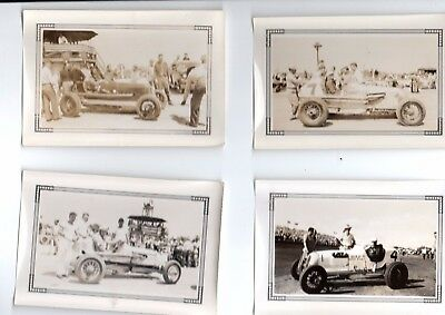 8 Vintage Race Car Original Photos 1940 S Very Good Shape Part 3 Of 4