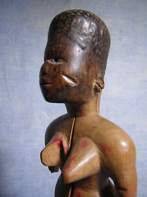 A fine VENAVI Twin EWE -TOGO *** AFRICANTIC FRANCE **- Original Old African Art