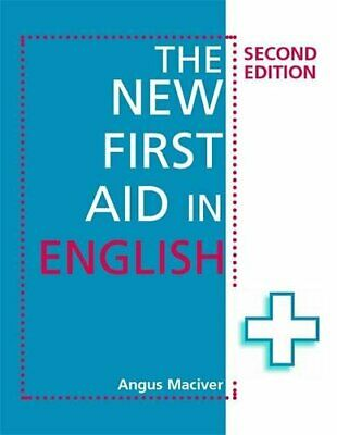 The New First Aid in English 2nd Edition by Maciver, Angus Paperback Book The