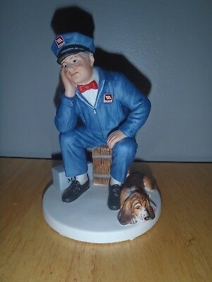 """NEW! 1995 MAYTAG """"The Loneliest Guy in Town"""" Figurine No. 726/5550 So Cute~"""