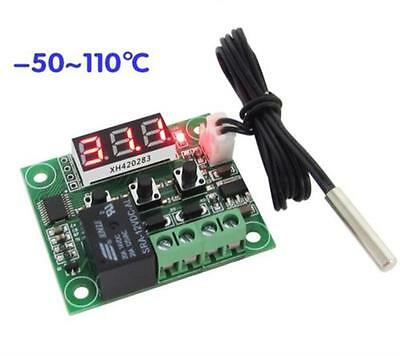 -50-110°C W1209 Digital thermostat Temperature Control Switch 12V + Sensor New