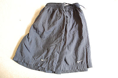 Lot of 2 Nike Athletic Gym Shorts Youth L Navy Blue Excellent