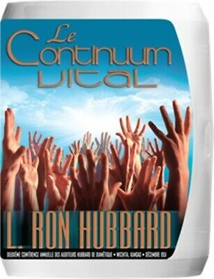 Ron Hubbard LE CONTINUUM VITAL CD-set in French Scientology Lectures NEW