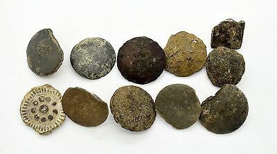 Medieval Viking Period buttons from clothes