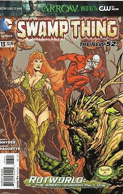 Swamp Thing #13 (NM) `12 Snyder/ Paquette