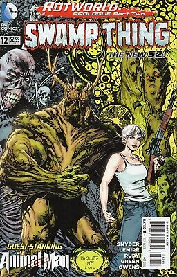 Swamp Thing #12 (NM) `12 Snyder/ Lemire/ Rudy