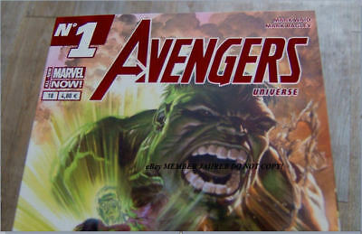 SAVAGE HULK 1 ROSS Red Foil Euro VARIANT 1:75 75th Anni Awesome Avengers Batch H