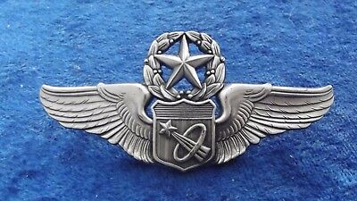 ^*(A2-024) US Air Force Astronaut Pilot Wing Abzeichen NASA MASTER