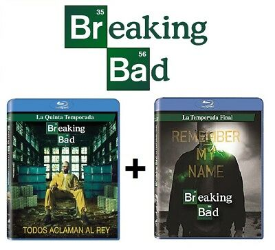 Breaking Bad: Temporada 5 y 6 Blu-ray NUEVO PRECINTADO