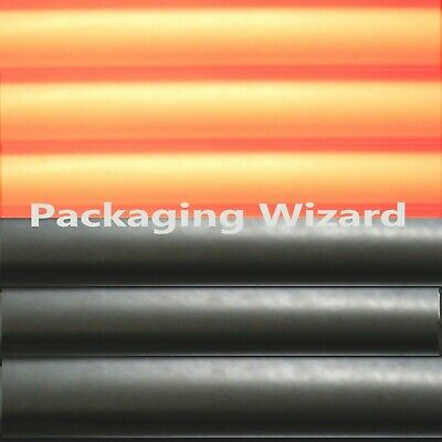 Halloween Tissue Paper ~ Orange & Black Mix ~ 20 Large Sheets
