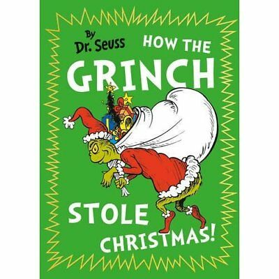 How The Grinch Stole Christmas! (Dr. Seuss) - Hardcover NEW Dr. Seuss 06/10/2016