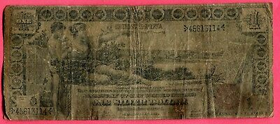 Docs Hard to Find $1.00 Educational Note 1896 - Intact Example! Free Shipping!